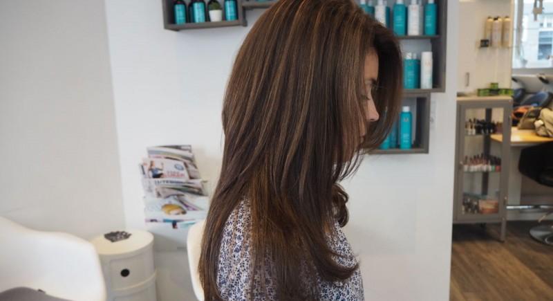 salon dechoix coloring+highlights+haircut +blowdry