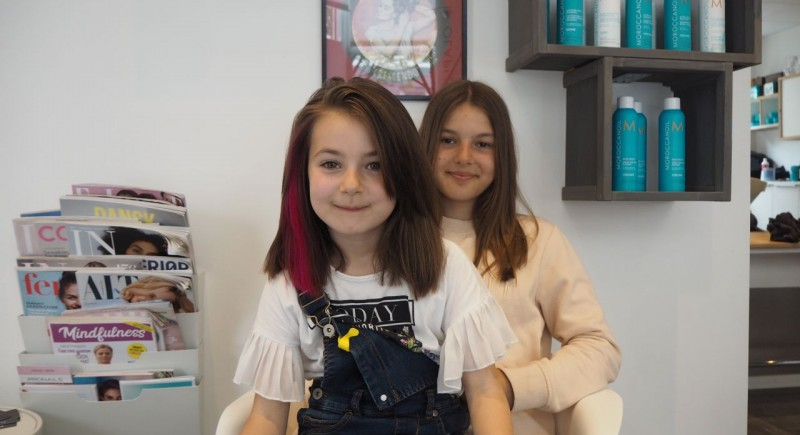 Salon Dechoix Girls Hairstyling
