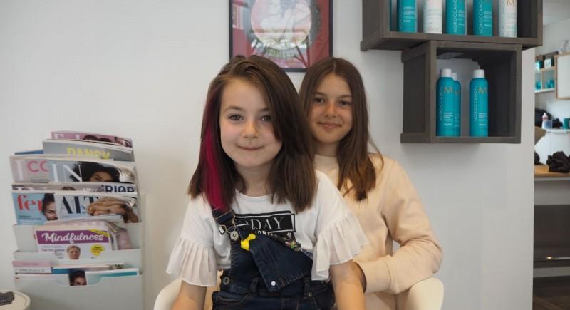 Salon Dechoix girls hairstyles
